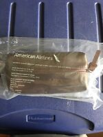 NEW American Airlines Intl. Business Class Amenity Kit COLE HAAN Chocolate