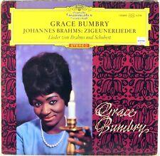 DGG RED STEREO Brahms Schubert GRACE BUMBRY Zigeunerlieder PESCHKO SLPM 138 889