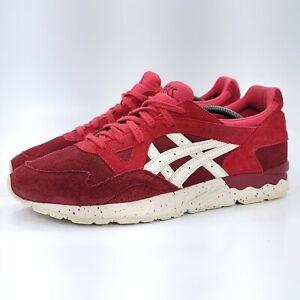 Asics Gel-Lyte V Athletic Running Training Shoe Mens Size 13 H61CK Red White