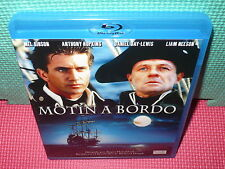 MOTIN A BORDO . MEL GIBSON - HOPKINS - DAY-LEWIS - NEESON - BLU-RAY