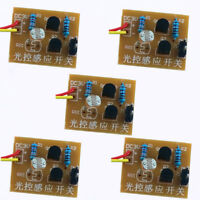 5pcs Light-Control DIY Kit Sensor Switch Circuit Suite For Electronic Trainning