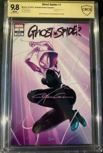 GHOST-SPIDER #1 CBCS 9.8 TRADE DRESS VARIANT SIGNED BY CLAYTON CRAIN! 8/26/2020