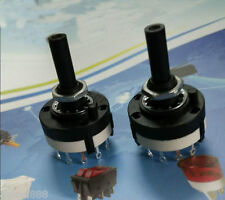 3 Pole /4 Way Rotary Switch Non-Shorting Solder Terminals