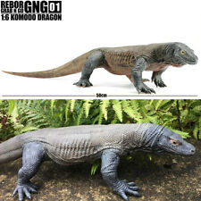 "REBOR 1/6 Komodo Dragon Model 19.6"" Animal Figure Collector Kids Toy Xmas Gift"