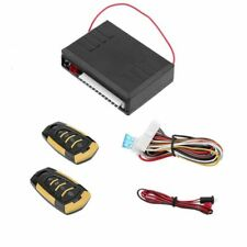 3X(Universal Central Locking with Remote Control Car Alarm Systems Auto Rem W7P1