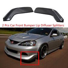 2 Pcs Winglet Type Style Car Front Bumper Lip Anti Collision Diffuser Splitters