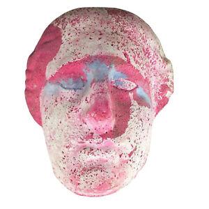 Decorative Face Mask Wall Hanging Roman Greek Vibe - Original Art by Lynn DiNino