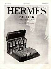 Original French Vintage Advert Ad - HERMES Hermès Toiletry Bag Travel - 1930