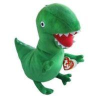 "TY Peppa Pig George's Mr Dinosaur Buddy 10"" Plush Soft Stuffed Toy"