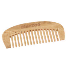 Antistatic Healthy Wide Tooth Curly Hair Brush Massage Handle Bamboo Comb
