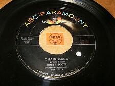 BOBBY SCOTT - CHAIN GANG - SHADRACH  - LISTEN - RNB  POPCORN