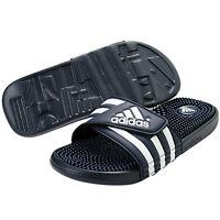 New Adidas Adissage 078261 Navy White Slippers Slide Men