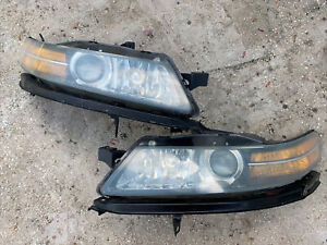 2004/2005/2006 Acura TL Rigt and Left Side Headlights Pear HID OEM