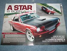 """1966 Mustang Coupe Hardtop RestoMod Article """"A Star is Born"""" DOHC 4.6"""