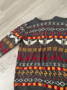 Popgear Harry Potter Wizarding World Christmas Sweater 12-13 Years/YRS