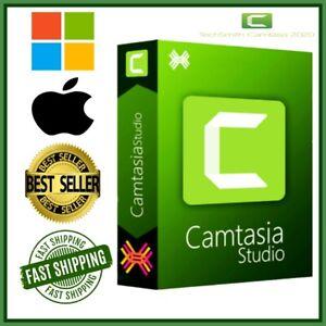 🔥 Camtasia Studio 2020   instant dowloand   🔥 1 PC Install 🔥🔥