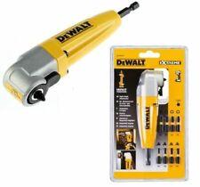 DeWalt DT71517T-QZ Right Angle Torsion Drill Attachment - Yellow