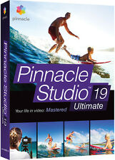 Pinnacle Studio 19 Ultimate by Corel - New Retail Box PNST19ULENAM