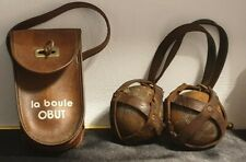Lot de 4 Boules de pétanque avec Sac La Boule OBUT ...