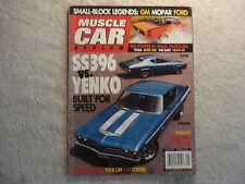 Muscle Car Review 2007 September SS396 Yenko, Boss 302, 340 Dart, Nova SS, Ford