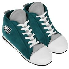 bbbae6ce Philadelphia Eagles High Top Sneaker SLIPPERS New - FREE U.S.A. SHIPPING