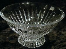 """MIKASA MERIDIAN 10"""" FOOTED CRYSTAL BOWL  'NEW IN BOX'"""