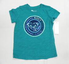Roxy Kids Sz 5 Shirts Tops Solar Green