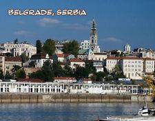 Serbia - BELGRADE - Travel Souvenir Fridge Magnet