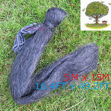 5 x 15m Mesh Anti Bird Mist Net Agricultural Orchard Protect Prevent Bird Damage