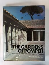 The Gardens of Pompeii by W. F. Jashemski (1979) - HC / Dust  - Free Shipping