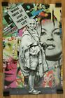MR. BRAINWASH GANDHI WHERE THERE IS LOVE AUTHENTIC POP ART PRINT POSTER 2011