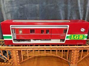 LGB 3069 (3069O) RHB BAGGAGE CAR * Original Box * G Scale *