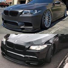 BMW F10 M5 Euro Type Carbon Fiber Front Add On Spoiler Lip