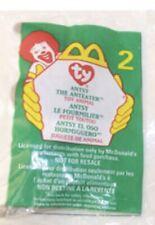 Ty Original Teenie Beanie Babies ~Antsy the Anteater #2 McDonalds 1999