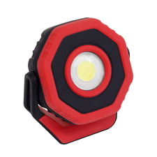 Sealey LED700PR Rechargeable Pocket Floodlight with Magnet 360° 7W COB LED RED