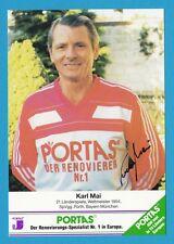 Karl Mai - Fußball-Weltmeister 1954 - # 15284