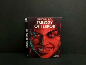 Trilogy Of Terror Blu-ray Slipcover ONLY. NO Disc or Case. OOP Kino Lorber