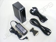 New USB 3.0 DVI Display Docking Station Port Replicator + PSU for Dell LG Laptop