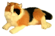 "BOCCHETTA CALICO LONG HAIR Cat Kitten ""MARMADLADE"" lying Soft Toy 33cm/13inch"