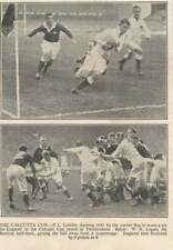 1936 Calcutta Cup, Pl Candler Scores Try