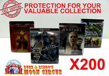 200x 4K UHD WITH SLIPCOVER - CLEAR PROTECTIVE BOX PROTECTOR SLEEVE CASE