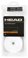 30 Head Grip Xtremesoft / OVERGRIPS-BIANCO-Gratis P&P