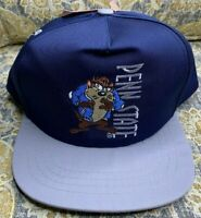 VINTAGE Deadstock 90's NCAA Penn State Snapback Hat YOUTH Looney Tones