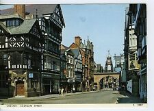 A View of Eastgate Street in Chester, England