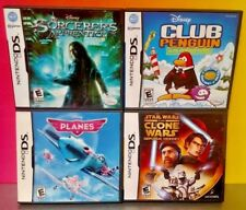 Disney Game Lot Club Penguin Star Wars Planes - Nintendo DS DS Lite 3DS 2DS