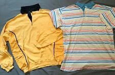 Pre-owned Lot of 2 Paul & Shark Yachting Men's Cotton Sweater & Polo Shirt  XLT