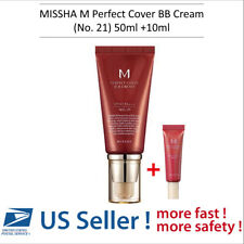 MISSHA M Perfect Cover BB Cream (No.21) 50ml + BB Cream No.21 (10ml) -US SELLER-