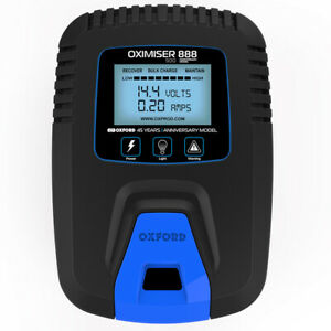 Genuine Oxford Oximiser 888 Trickle Battery Charger Anniversary Edition 12V