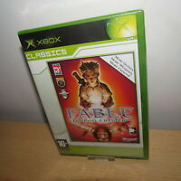 ORIGINAL XBOX Game FABLE: THE LOST CHAPTERS New Sealed pal version