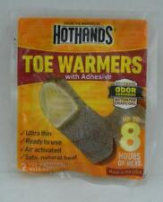 Hot Hands Toe Warmers with Adhesive for up to 8 Hours of Heat - 2 Pack